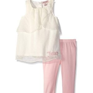 Juicy Couture Toddler Girl set